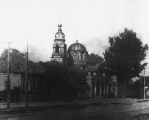 50-е годы 20-го века. Вид на церковь