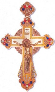 Крест с украшениями, принадлежавший Святейшему Патриарху Алексию I