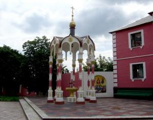 Храм Воздвижения Креста Господня. Надкладезная сень