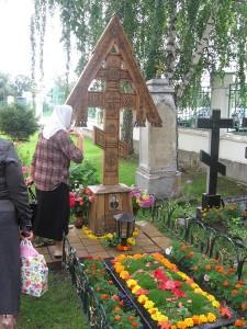 Могила Владимира Отта