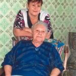 Внучка Винникова Нина Павловна Корниенко и правнучка Нина Юрьевна Чувасова