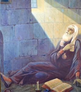 Кончина св. Патриарха Гермогена в темнице