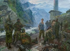 Подвиг русского солдата Евгения Родионова