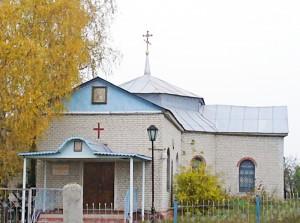 Казанский храм села Комаревцево.