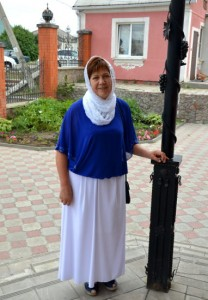 Прихожанка Крестовоздвиженского храма Галина Петровна Назина