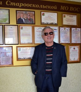 Председатель Старооскольского отделения Всеросийского общества слепых Игорь Ростиславович Чертов