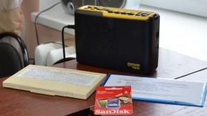 Тифлофлэшплеер – специальное устройство для чтения «говорящих книг» на флэш-картах